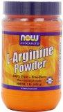 NOW Foodstuff L-Arginine Powder, 1-Pound