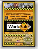 SP-154 - SCAFFOLDING Dangers Basic safety COMPLIANCE LIBRARY - OSHA - 29CFR1926.450-454 - UPC - 639737375411